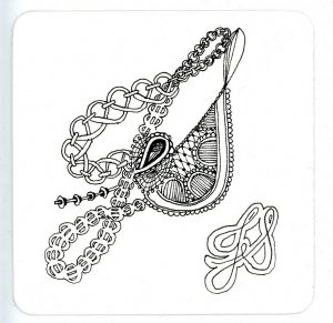 Zentangle a Music Symbol